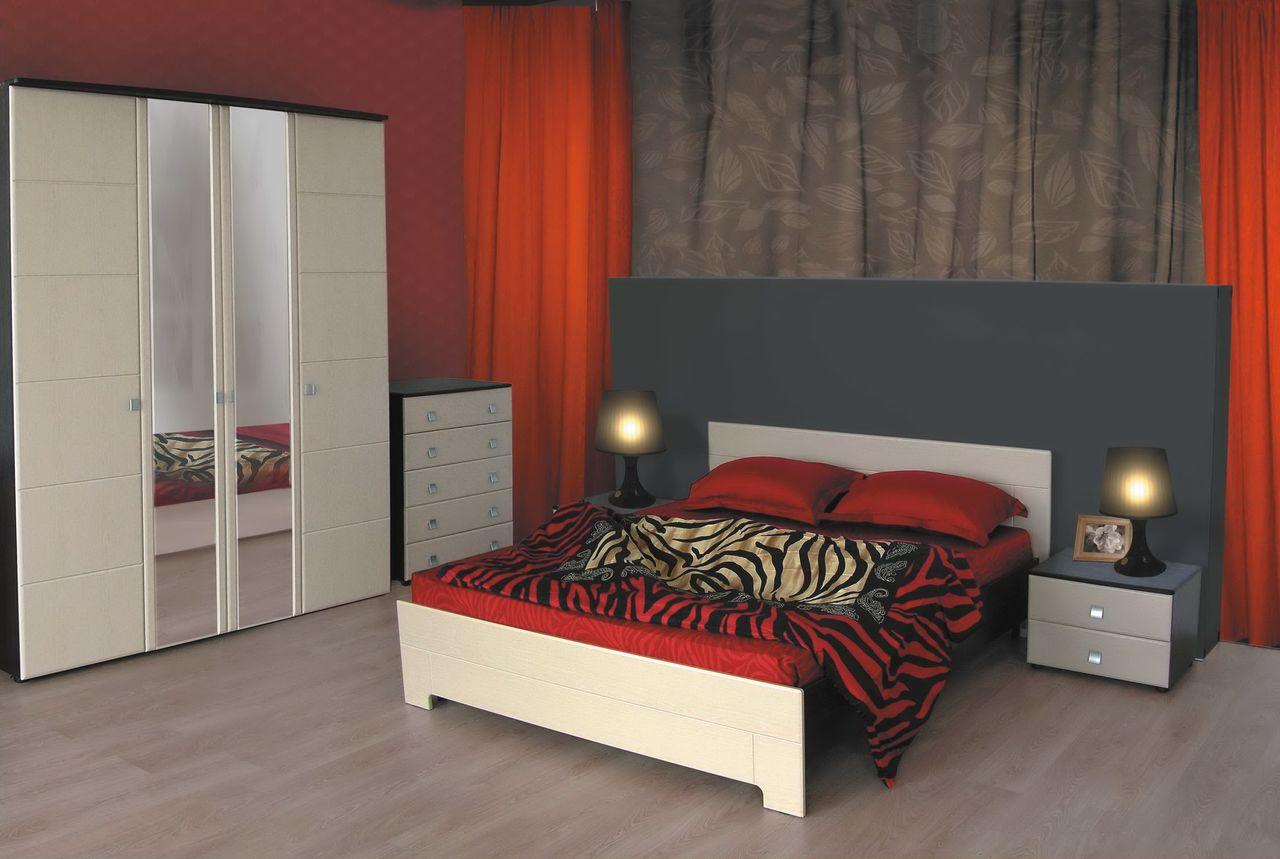 Корпусная мебель для спальной комнаты.